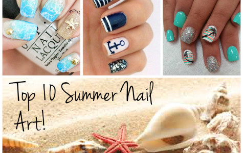 TOP 10 SUMMER NAIL ART!
