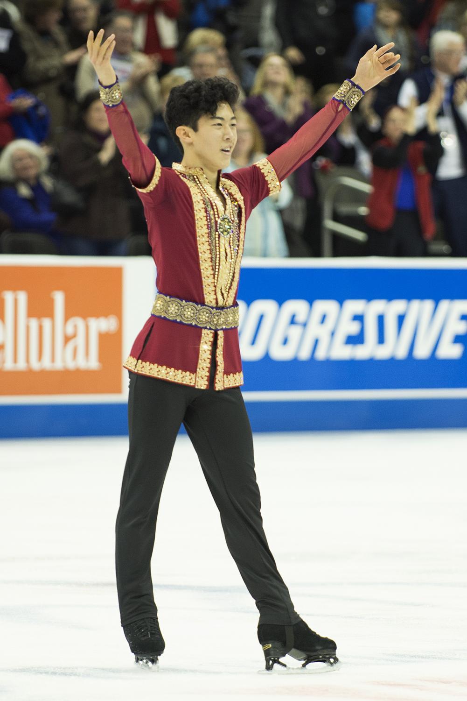 Figure Skater Nathan Chen