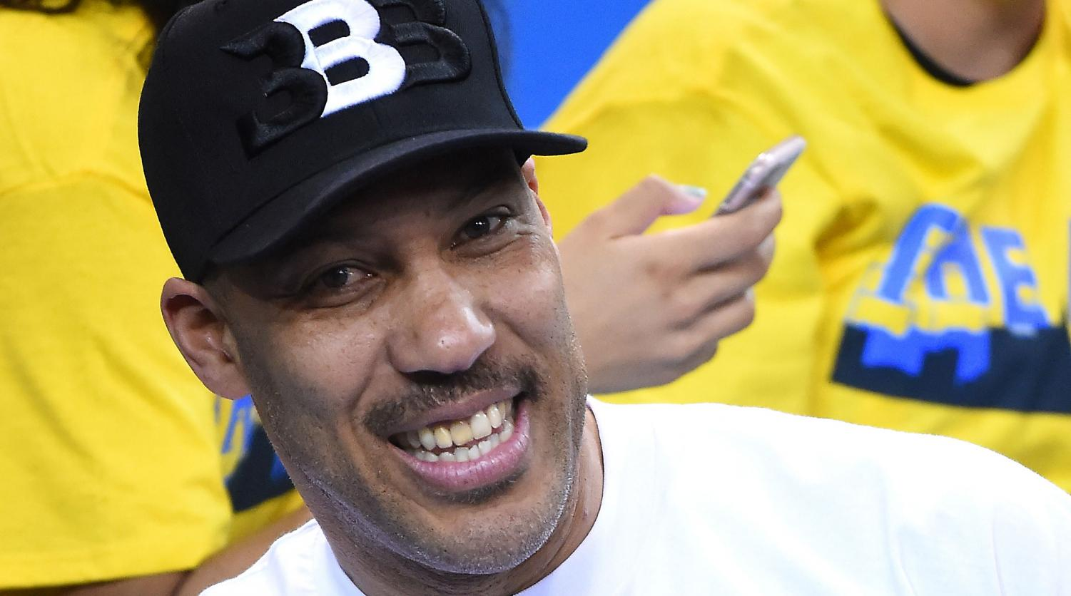 LaVar Ball, who has made many outrageous comments.