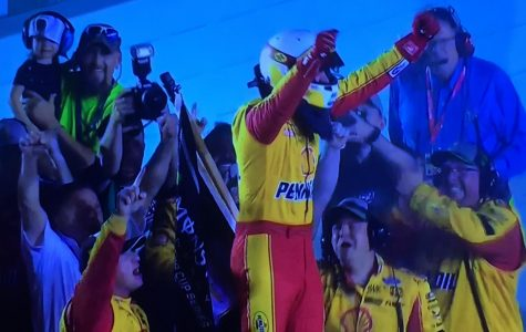 LOGANO SURPRISES NASCAR WORLD WITH FIRST CUP SERIES CHAMPIONSHIP