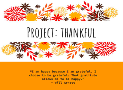 PROJECT THANKFUL 2018