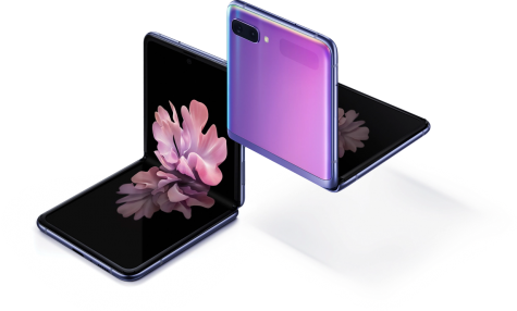 The new Galaxy Z Flip