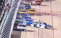 Kyle Busch turns Chase Elliott in Wednesday's Toyota 500