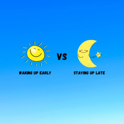 WAKING UP EARLY OR STAYING UP LATE?