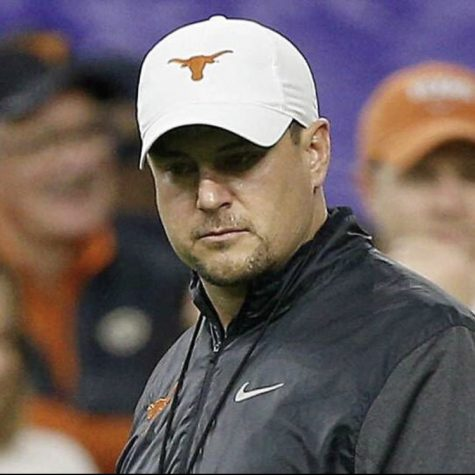 Texas head coach Tom Herman