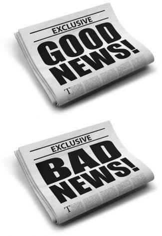 NEGATIVE NEWS VS. POSITIVE NEWS