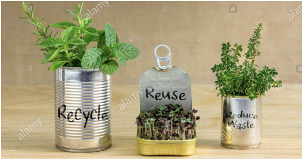 THE IMPORTANCE OF RECYCLING AND COMPOSTING