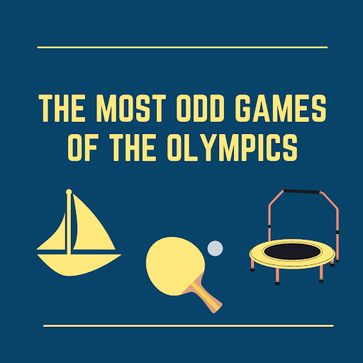 THE MOST ODD GAMES OF THE OLYMPICS