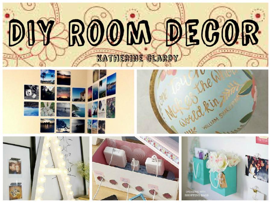 DIY ROOM DECOR AND TRICKS!