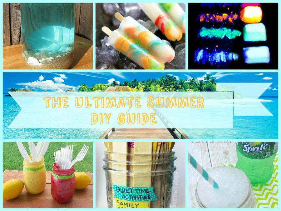 THE ULTIMATE SUMMER DIY GUIDE!!!