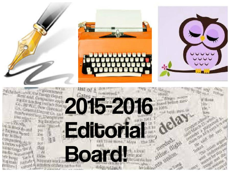 2015-2016 EDITORIAL BOARD