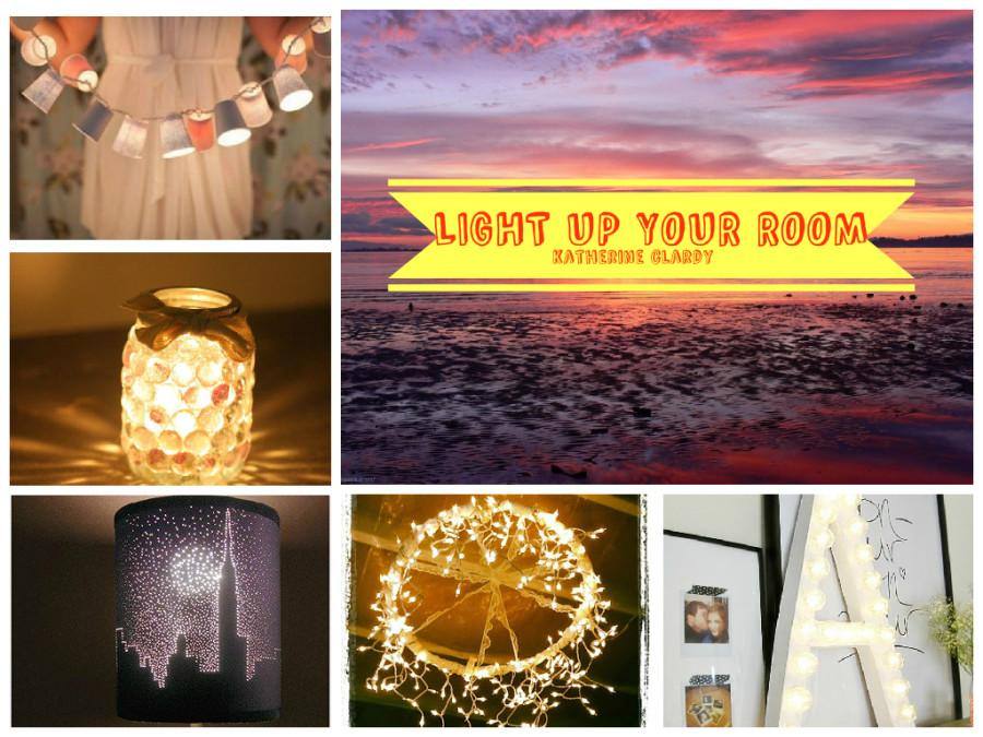 5 WAYS TO LIGHT UP YOUR ROOM