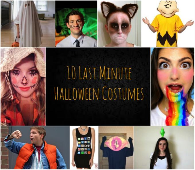 10 LAST-MINUTE HALLOWEEN COSTUMES