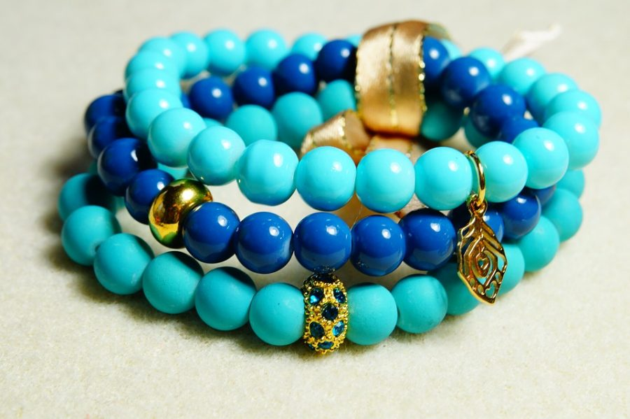 Beads Blue Bracelet