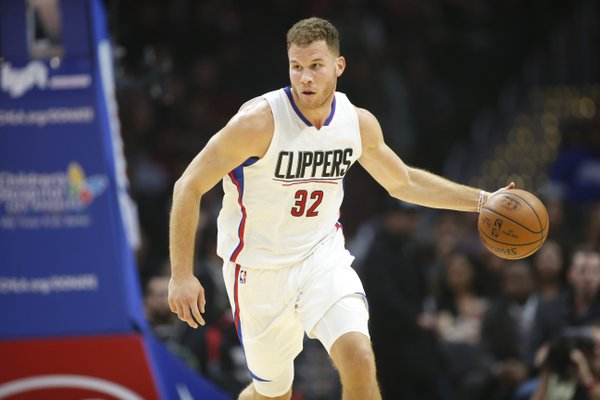 Blake Griffin with the Los Angeles Clippers in 2017.