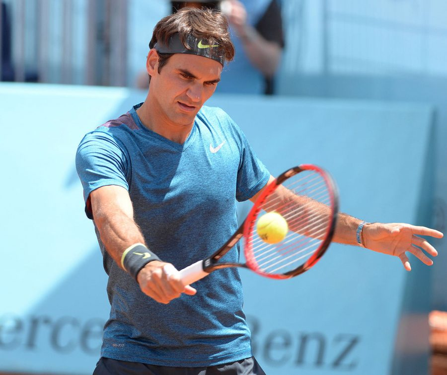 Roger Federer, who won the mens branch of this years Australian Open.