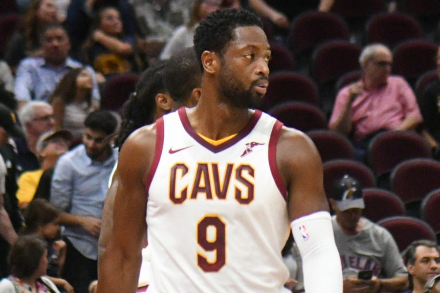 Dwyane Wade, who was traded to the Heat for a 2nd-round pick.