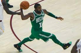 Celtics point guard Kyrie Irving