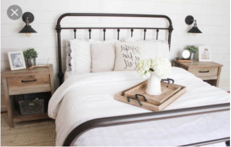 THE EASY WAY TO HAVE A FARMHOUSE STYLE BEDROOM