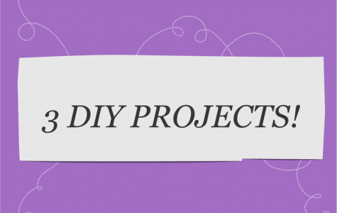 3 DIY PROJECTS