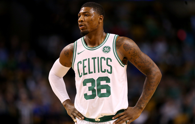 Marcus Smart, who's energy and defensive ability make a huge impact on his team.