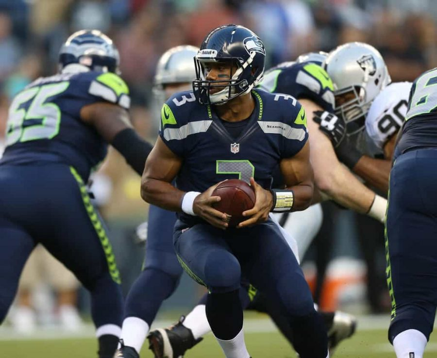Seattle+Seahawks+quarterback+Russell+Wilson%2C+who+leads+the+MVP+race