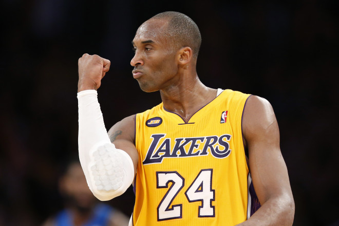 Los Angeles Lakers legend Kobe Bryant, who tragically passed away on Sunday.