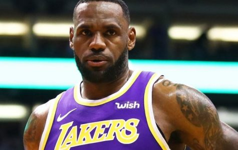 LeBron James, who has had one of the greatest careers in NBA history
