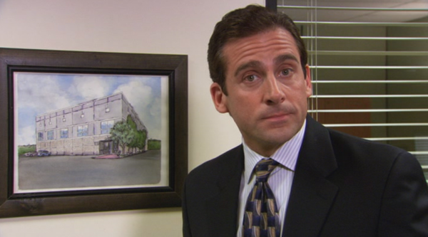 Michael Scott, who is one of the main characters in The Office