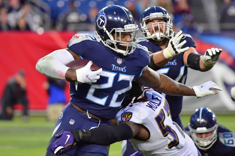 Derrick Henry, who had 178 yards and 3 touchdowns on Sunday against the Colts