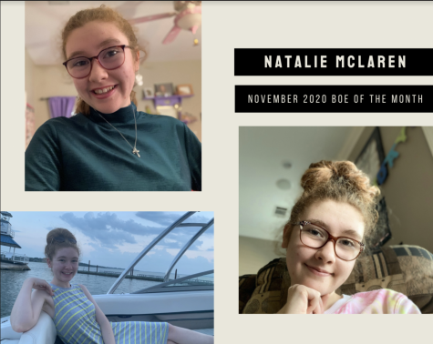 NATALIE MCLAREN: NOVEMBER 2020 BOE OF THE MONTH