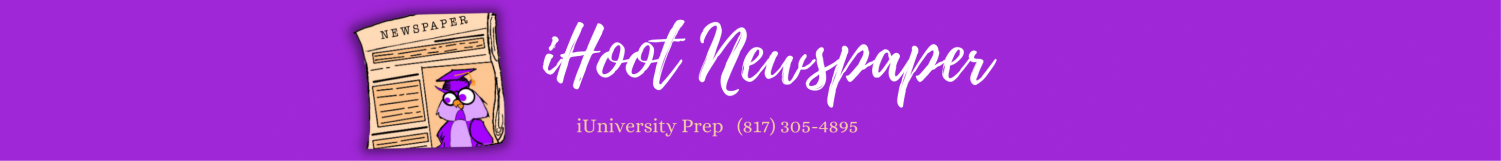 The student news site of iUniversity Prep in Grapevine, Texas